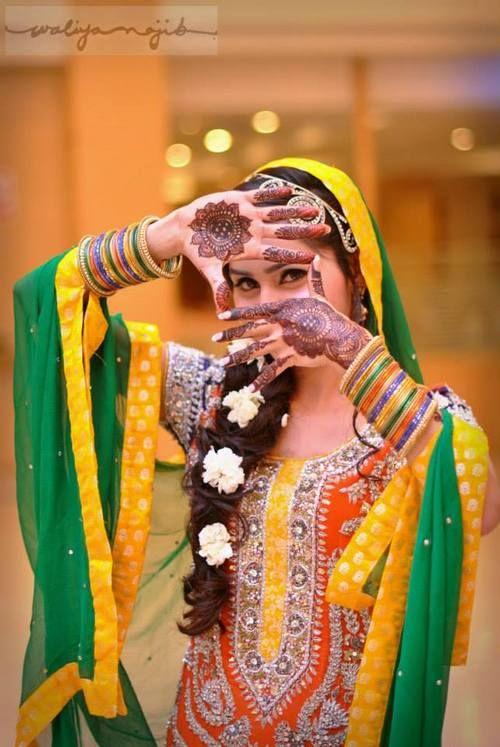 Waliya Najib Photography. Indian wedding photography. Bridal photo shoot ideas. Indian bride wearing bridal lehenga and jewelry. #IndianBridalHairstyle #IndianBridalMakeup #BridalMehndi