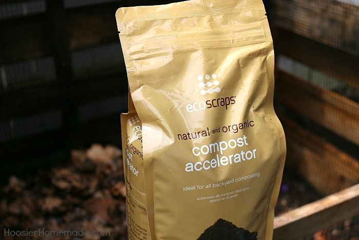Add Compost Accelerator to the Compost Bin