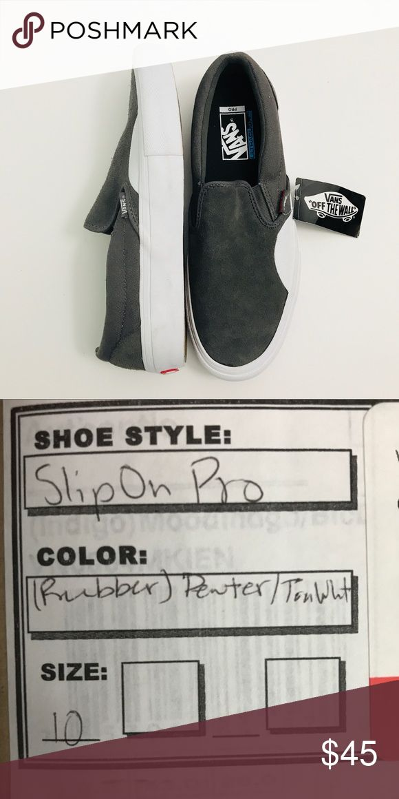 Vans slip on pro Brand new with tags and box Vans Shoes Sneakers