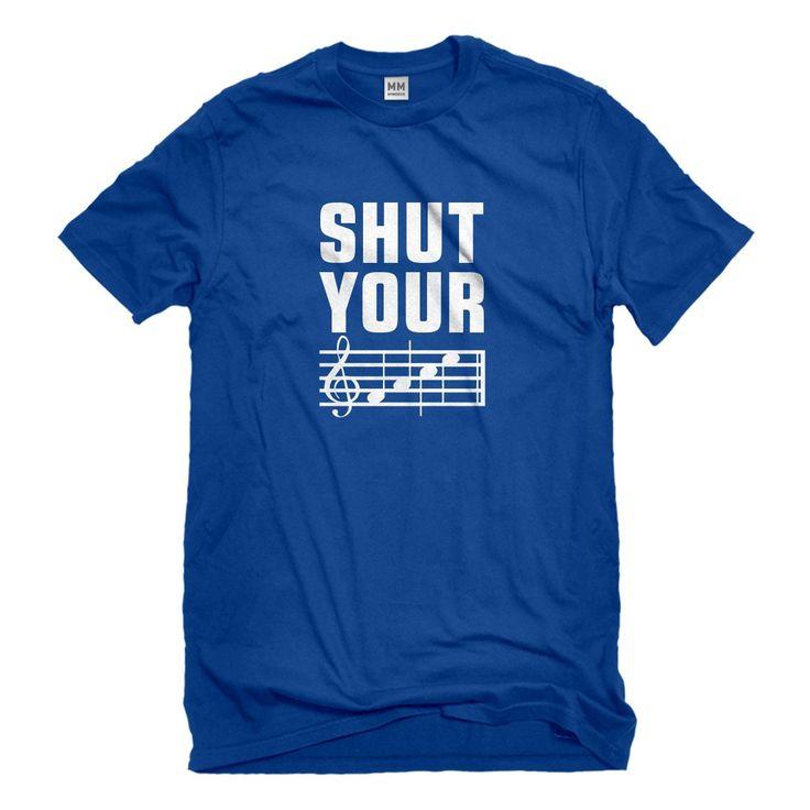 Mens Shut Your Face Unisex T-shirt