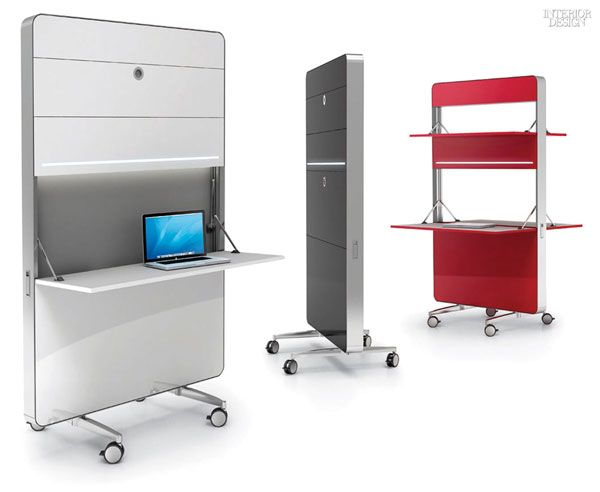 See other product categories in the NeoCon 2015 Preview>>  1.Nomado mobile desks in aluminum and MDF bySandler Seating. 2.Ad-Lib by PearsonLlo...