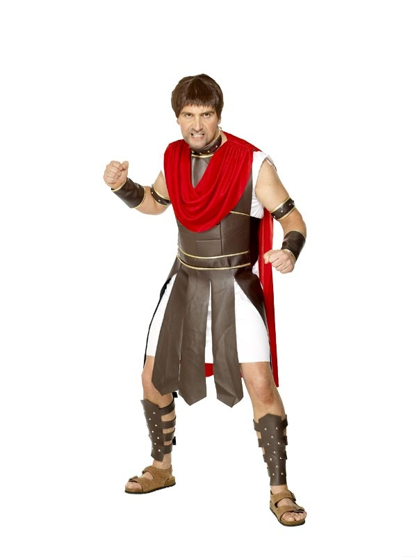 Centurion Costume easy DIY look for faux leather