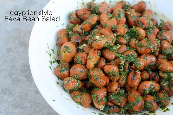 Paleo Vegan Fava Bean Salad