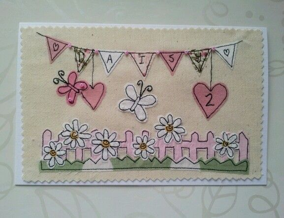 fence and bunting