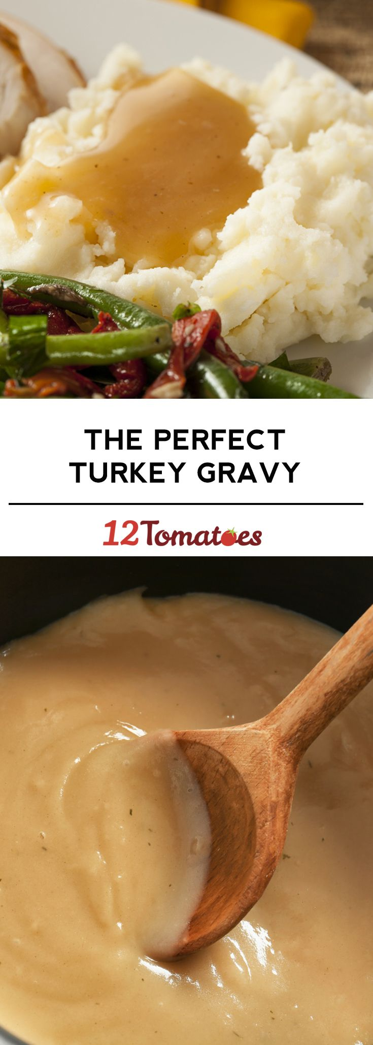 The Perfect Turkey Gravy - a Thanksgiving essential!