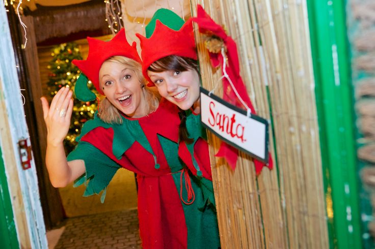 Come and see what our cheeky Elves are getting up to at our Santa's Grotto! www.therainforestcafe.co.uk/christmas.asp