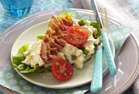 Kyllingesalat | Skøn salat til LCHF Kuren