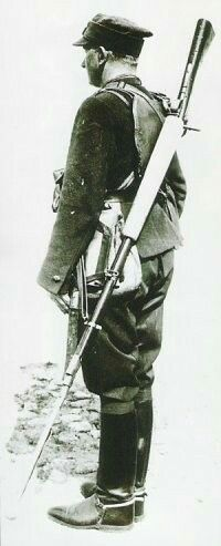 Polish soldier with Wz 35 anti tank rifle - pin by Paolo Marzioli