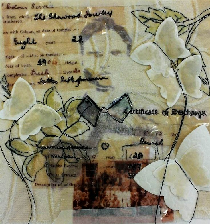 Kirsten Wood - mixed media development
