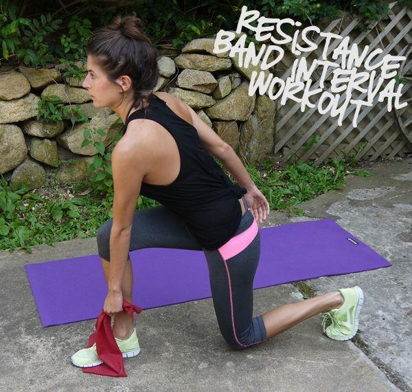 Resistance ban workout