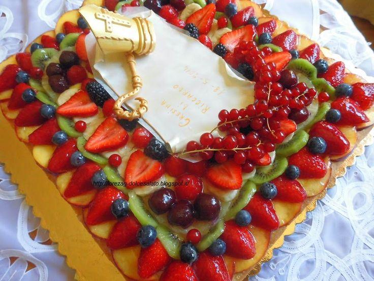 Torte Decorate Con Frutta A Forma Di Numero Cerca Con