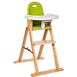 Svan Baby-to-Booster High Chair in Natural/Lime