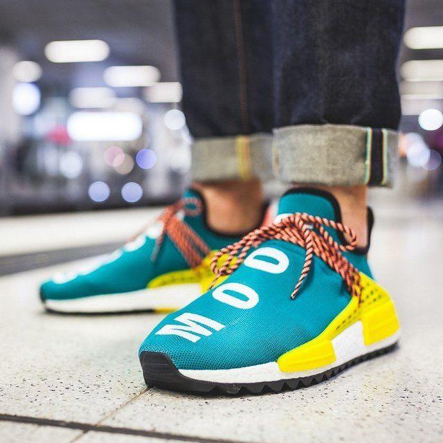 Adidas Human Race NMD Pharrell Sun Glow | Looks