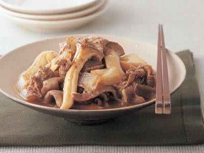 [エリンギと牛肉の甘辛煮] 料理レシピ|みんなのきょうの料理