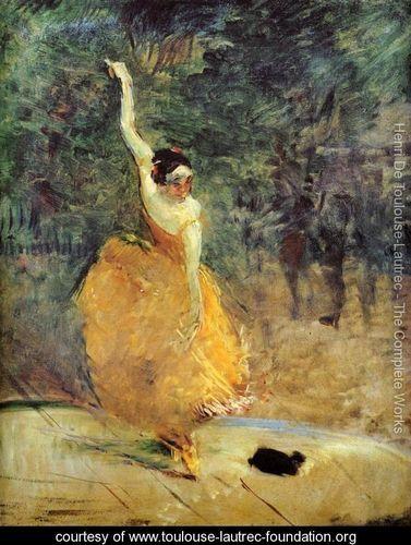 Henri De Toulouse-Lautrec: The Spanish Dancer