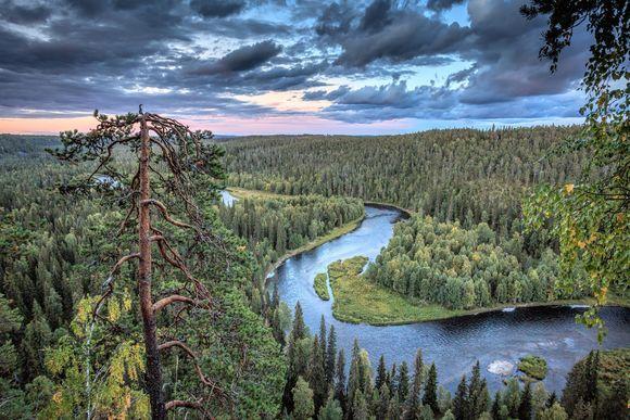 Northern Ostrobothnia. Kuusamo, Finland