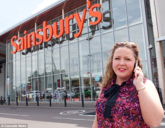 Jo Clarke, 26, was in the queue at her local Sainsbury's, in Crayford, south-east London was refused to be served at checkout because on her mobile phone agree or disagree ?   I agree think it is just rude to talk on the mobile whilst being served !!!