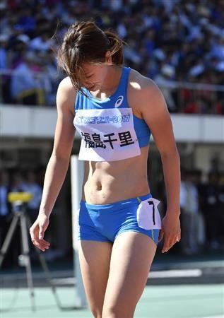 女子100メートルで明暗…市川は参考で自己ベスト、福島は「駄目。すみません」/陸上 #女子 #陸上 #福島千里