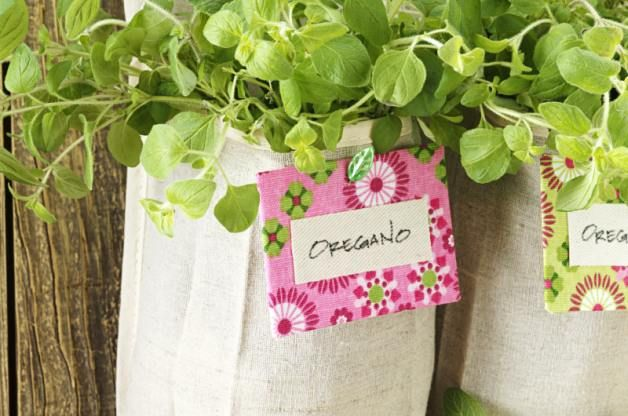 Save space for other plants by growing your herbs in a shoe organizer herb garden. First decide on the location for your new vertical herb garden and then click in to learn the next steps for upcycling a shoe organizer into a space for your plants. Birds & Blooms also shares a quick tutorial for making plant tags. Check them out!