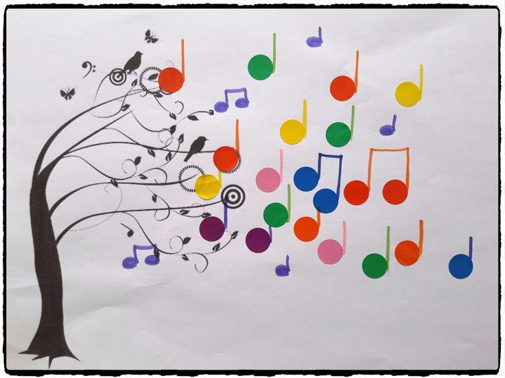 L'arbre à musique – Mes humeurs créatives by Flo