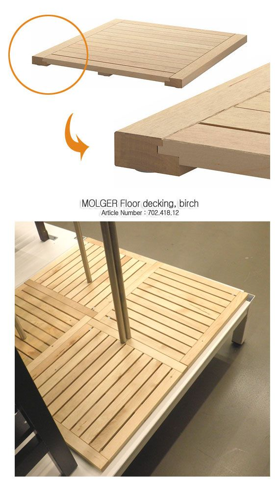 ikea molger decking this ole house ideas pinterest products decking and ikea. Black Bedroom Furniture Sets. Home Design Ideas