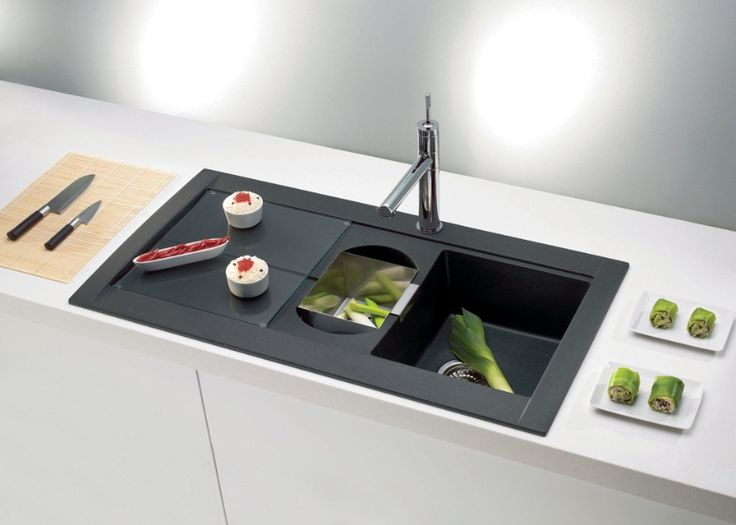 25 Best Ideas About Black Kitchen Sinks On Pinterest Black Sink Black Kit