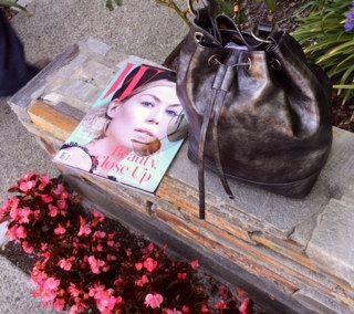 Jill Milan's SoMa bag. Made in Italy.   Available at http://www.jillmilan.com/bags