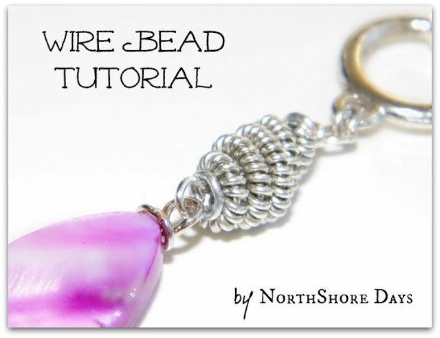 how to make a wire and bead dragonfly