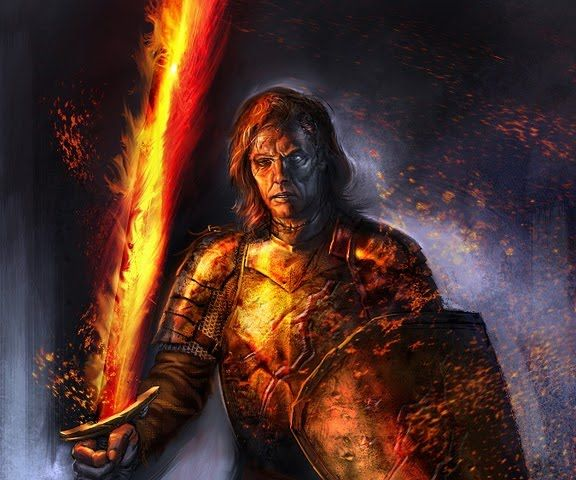 Beric Dondarrion: 'Praise R'hllor', The Lord of Light, Heart of ...