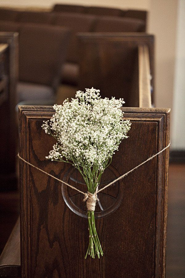 Best 25 wedding pew decorations ideas on pinterest church pew decorate church for wedding wedding pew bows junglespirit Image collections