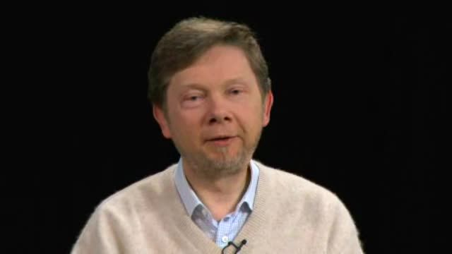 Eckhart explains the deeper meaning behind the word responsibility. The state of your consciousness is your ultimate responsibility and determines what kind of world you create. A diseased state of consciousness produces a world of disease and dysfunction. There is a deep-seated dysfunction in the human mind, and if there is no shift in consciousness the dysfunction of the mind may destroy us.