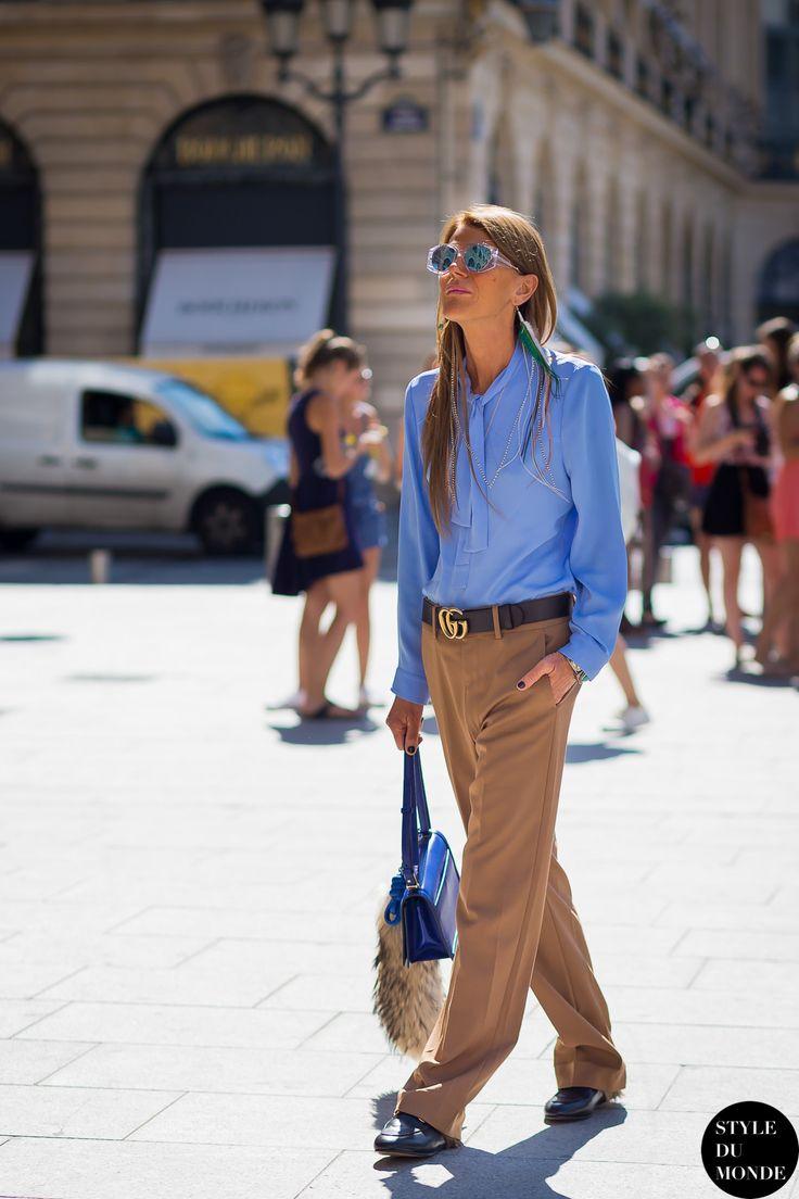 Haute Couture Fall 2015 Street Style: Anna Dello Russo