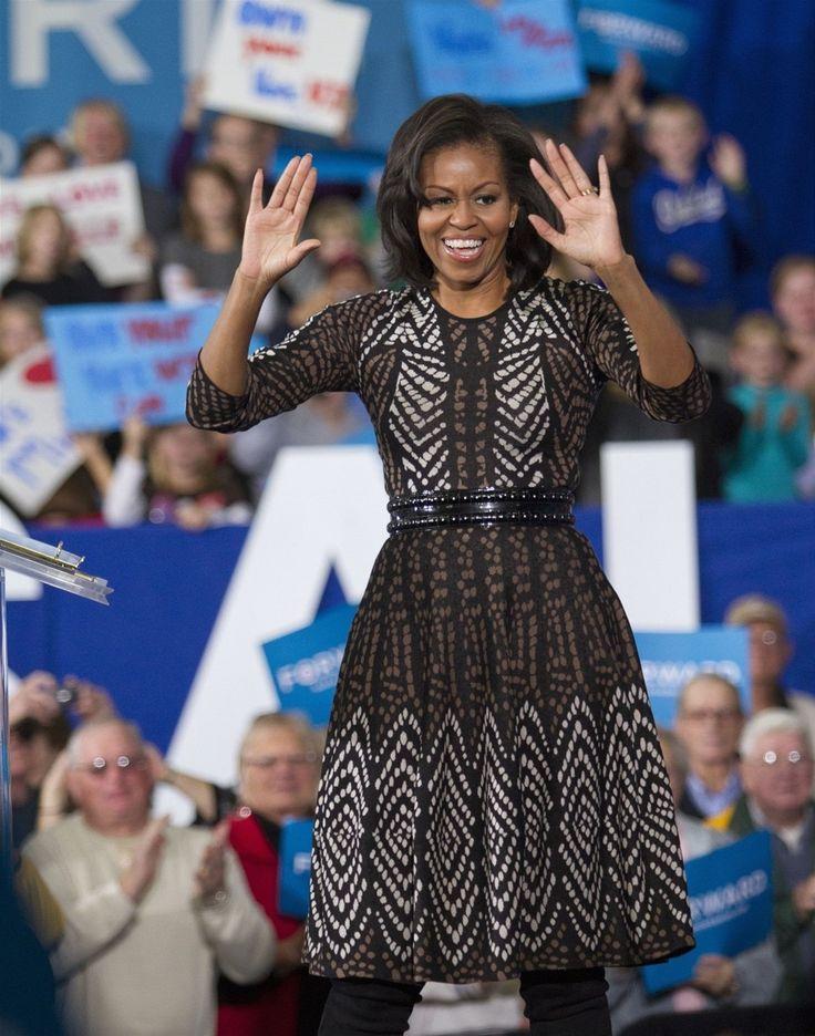 Michelle Obamová se díky svému vkusu a sportovní postavě dostala i na titulní stránku amerického módního magazínu Vogue.