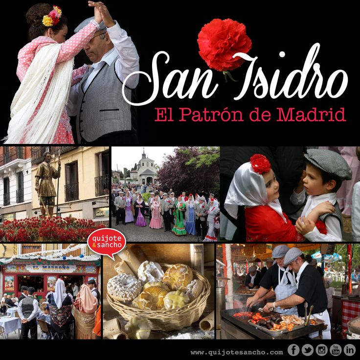 Fiestas de San Isidro, el patrón de Madrid.