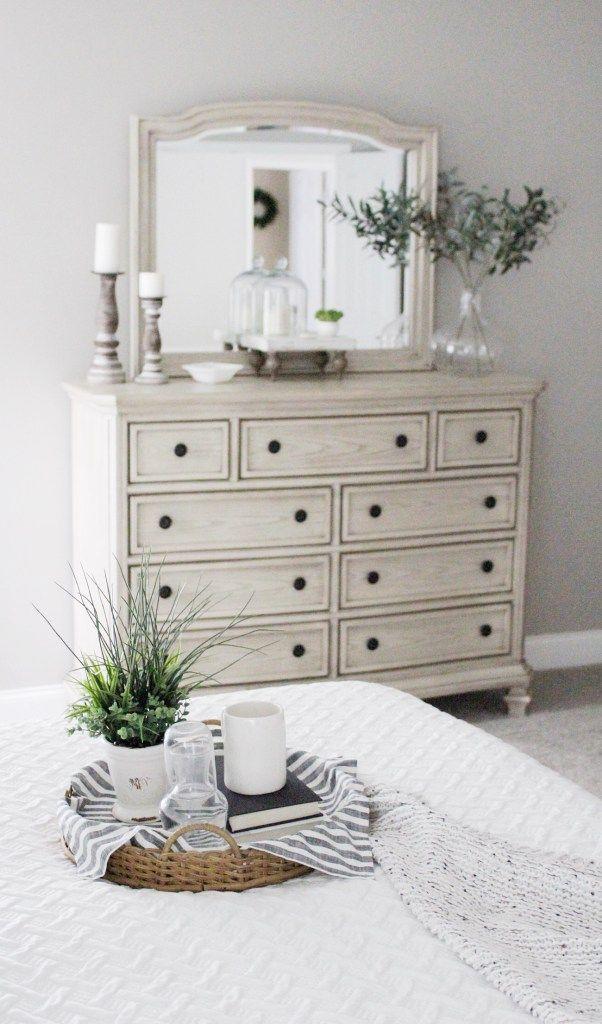 Updated Bedroom Tour Ashley Furniture Bedroom Dresser Decor