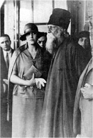 Tagore and Victoria Ocampo in Paris, 1930