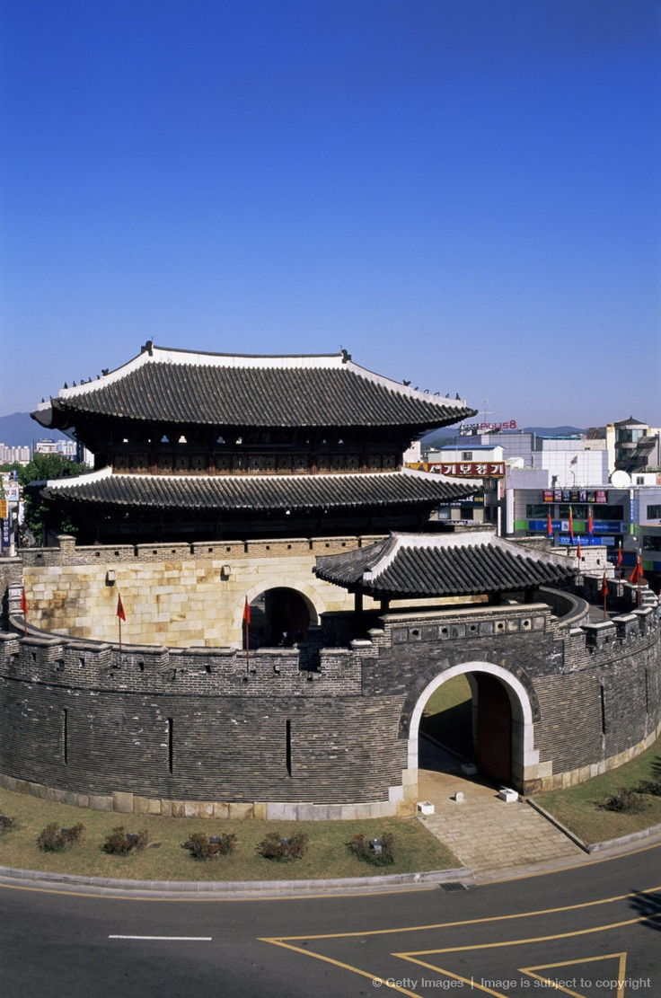 Korea,Seoul,Suwon,Hwaseong Fortress,Paldalmun,South Gate