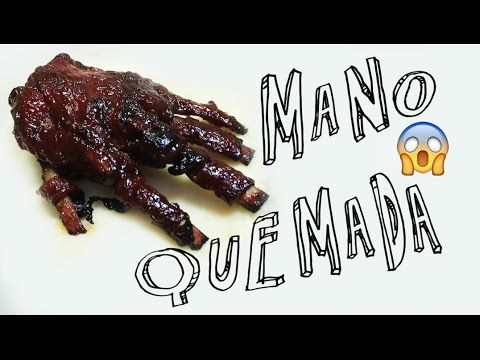 ➾ ¿Comó Hacer Costillas BBQ? ✞ MANO ZOMBIE!!! - Miranda Ibañez