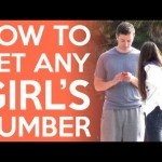 How to Get Any Girl's Phone Number [VIDEO]