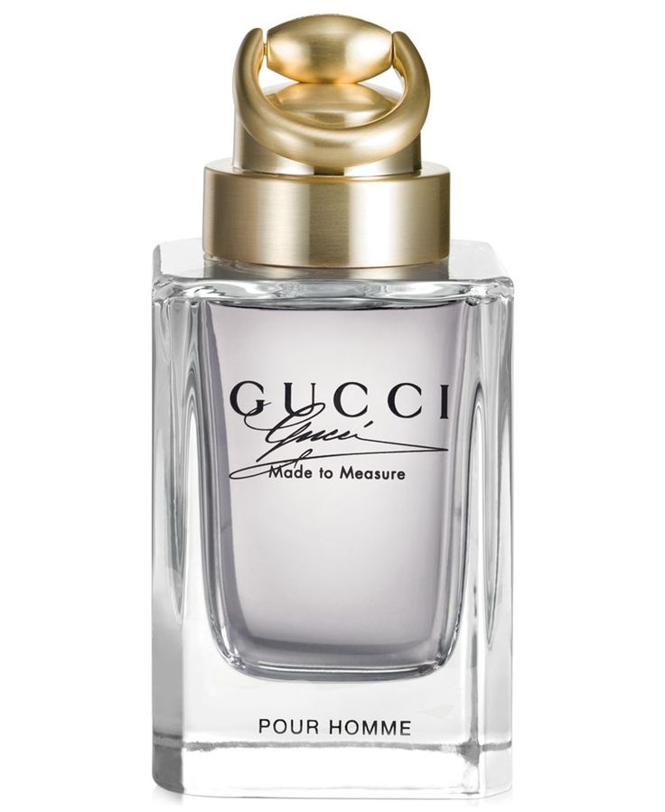 The Gucci Made to Measure fragrance is intensely masculine, created for the man who demands the very best - a man whom others aspire to be. It's inspired by the Gucci Made to Measure suit, specially c