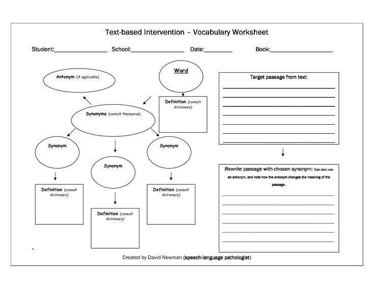 Vocabulary templates - Google Search