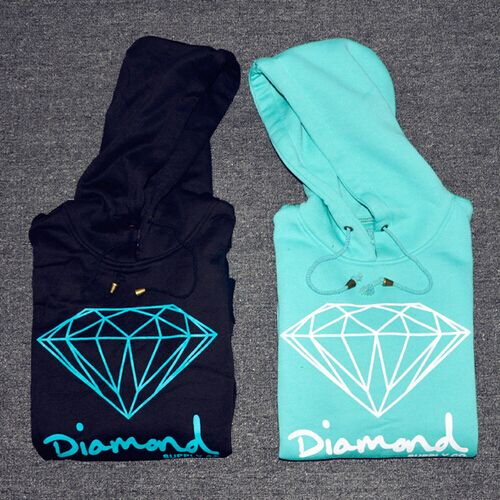 Diamond supply co men hoodie women street brand fleece warm sweatshirt winter autumn fashion hip hop primitive pullover