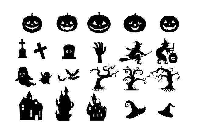 Halloween elements - Free Vector Site | Download Free Vector Art, Graphics