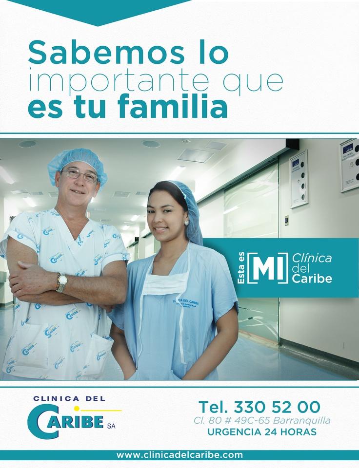 Aviso de 1 página en Revista Ola Caribe, para la Clinica del caribe en Barranquilla, Colombia · Diseñado por Lemon   Agencia de Medios y Publicidad · @agencialemon · www.agencialemon.com  #Fotografía y #Diseño #Publicidad #Concepto