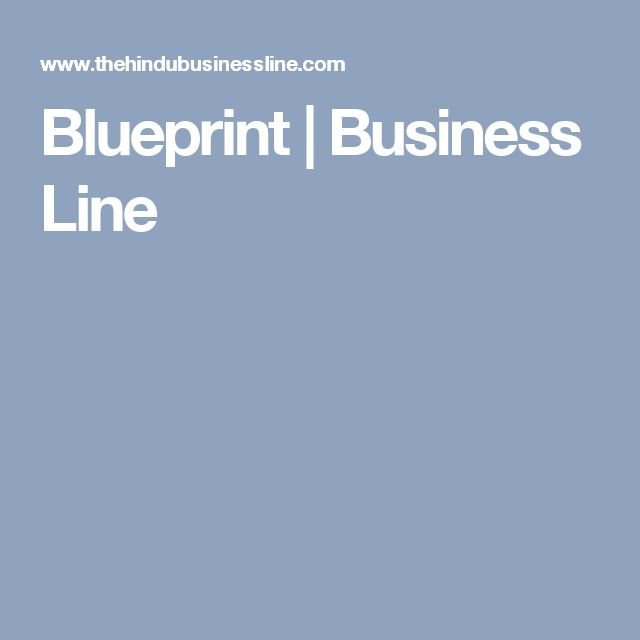 Blueprint | Business Line