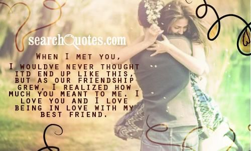 Cute bible Quotes | when I met you, I wouldve never thought itd end up like this, but as ...