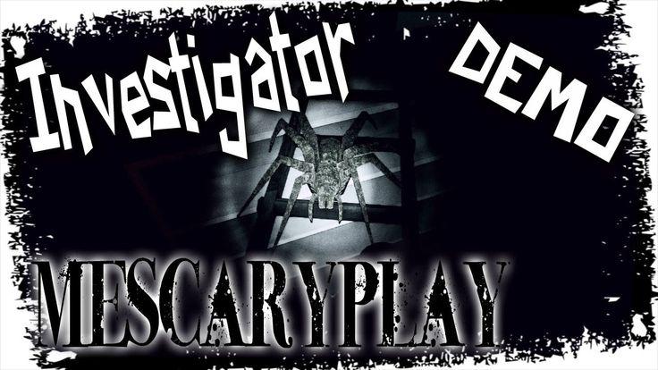 Investigator Demo Indie Horror - Пауки переростки, неведомая хрень и кра...