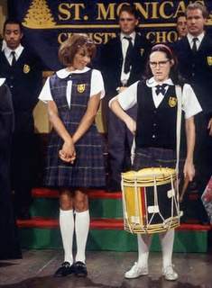 Whitney Houston and Molly Shannon as Mary Katherine Gallagher