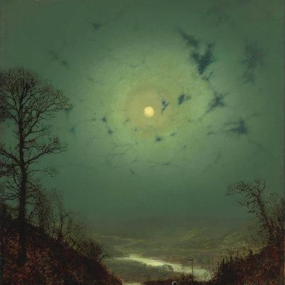 John Atkinson Grimshaw, Chiaro di luna - Moonlight (1871) - Google Search