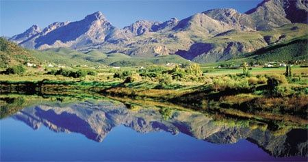 Swartberg Mountains, Klein Karoo -- South Africa